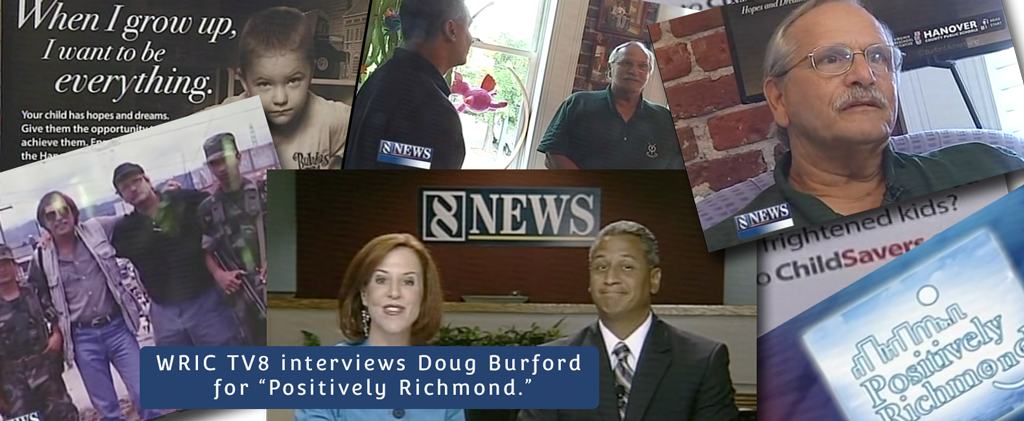 WRIC TV8's Positively Richmond interviews Doug Burford