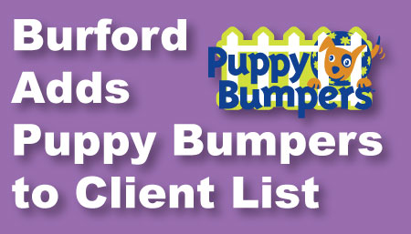 Burford Advertising Teams Up With Puppy Bumpers to Save Small Dogs