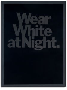 Wear White at Night